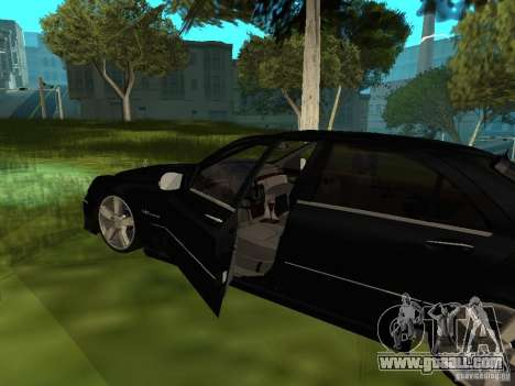 Mercedes Benz AMG S65 for GTA San Andreas back view