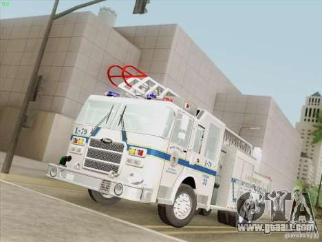 Pierce Puc Aerials. Bone County Fire & Ladder 79 for GTA San Andreas