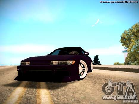Nissan Silvia S13 Tandem Of DIE for GTA San Andreas