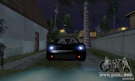 Xenon Lights (Xenon Headlights) for GTA San Andreas third screenshot