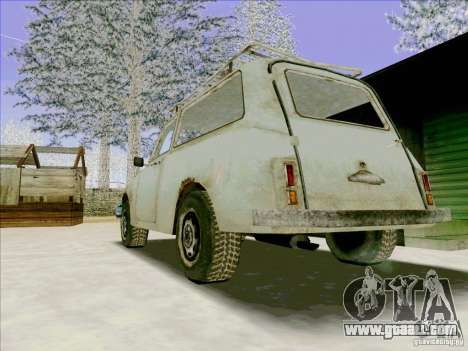 Car from COD 4 MW for GTA San Andreas back view