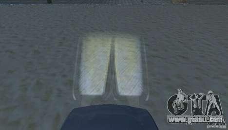 Halogen headlights for GTA San Andreas