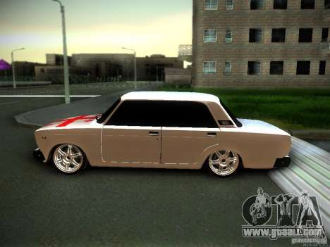 VAZ 2107 Georgia for GTA San Andreas