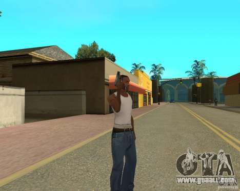 Weapons of STALKERa for GTA San Andreas second screenshot
