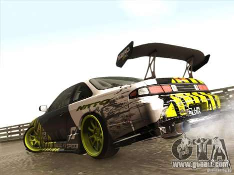 Nissan 200SX S14A for GTA San Andreas left view