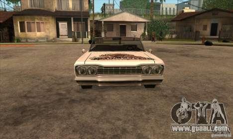 Painting for Savanna for GTA San Andreas sixth screenshot