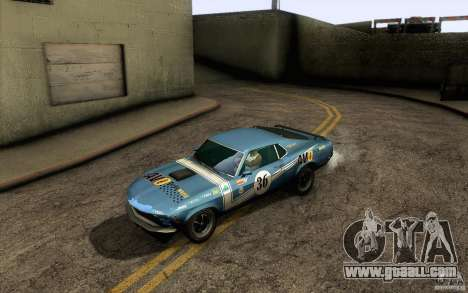 Ford Mustang Boss 302 for GTA San Andreas engine