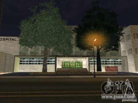 The New Hospital for GTA San Andreas
