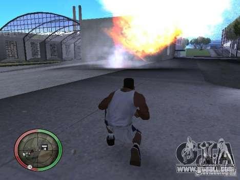Dynamite MOD for GTA San Andreas sixth screenshot
