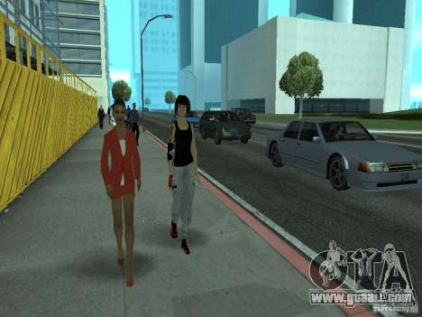 Mirrors Edge Faith for GTA San Andreas third screenshot