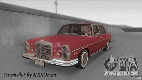 Mercedes-Benz 300 SEL for GTA San Andreas