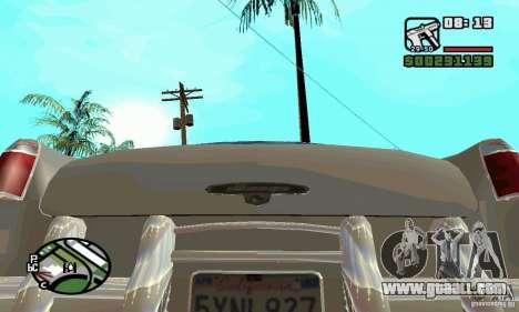 Houstan Wasp (Mafia 2) for GTA San Andreas right view