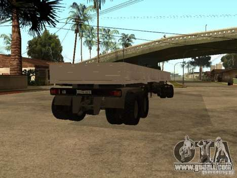 KAMAZ 55111 for GTA San Andreas left view