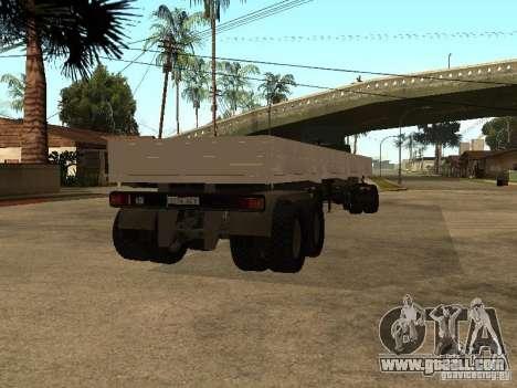 KAMAZ 55111 for GTA San Andreas left view