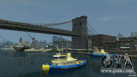 New Tug Texture v.2 for GTA 4