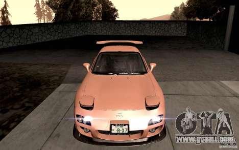 Mazda RX-7 Hellalush for GTA San Andreas