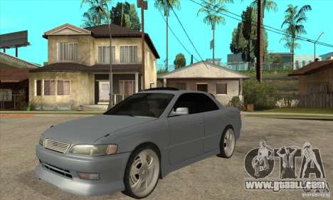 TOYOTA MARK II GT for GTA San Andreas