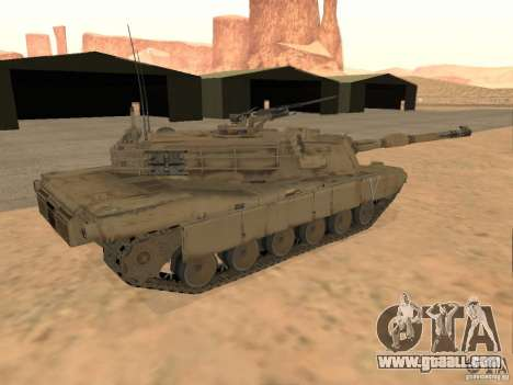 Abrams M1A2 for GTA San Andreas left view