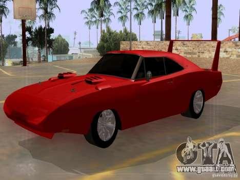 Dodge Charger Daytona 440 for GTA San Andreas