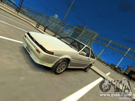 Toyota Corolla AE86 EPM v3.0 for GTA 4
