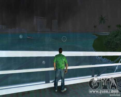 New water, newspapers, leaves, Moon for GTA Vice City third screenshot