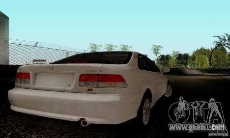 Honda Civic 1999 Si Coupe for GTA San Andreas right view