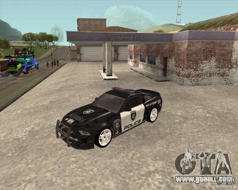 Ford Shelby GT500 2010 Police for GTA San Andreas