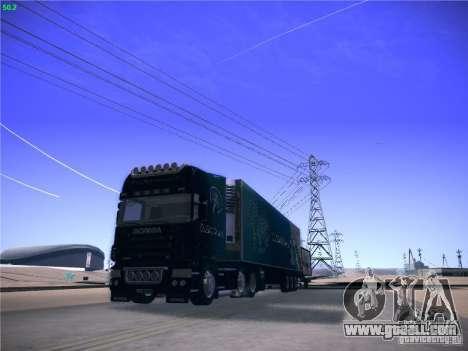 Scania R620 Dubai Trans for GTA San Andreas back view