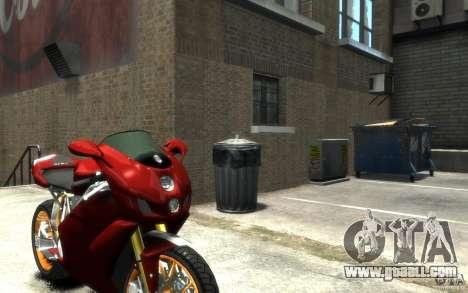 Ducati 999R for GTA 4 right view