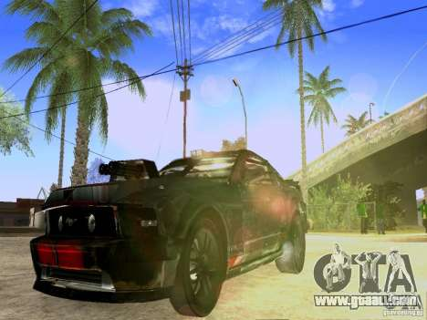 Ford Mustang Death Race for GTA San Andreas right view