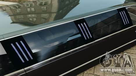 Lincoln Town Car Limousine 2006 for GTA 4 engine