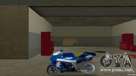 Yamaha Sportbike beta 1.0 for GTA Vice City left view
