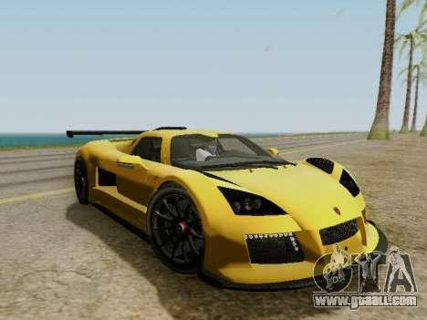 Gumpert Apollo S 2012 for GTA San Andreas