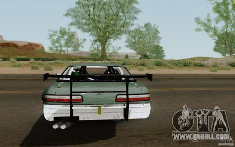 Nissan S13 Ben Sopra for GTA San Andreas back left view