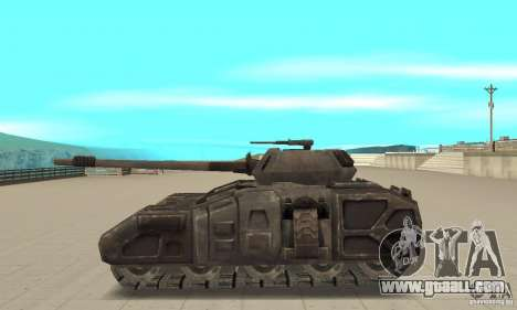 Rhino Tank-UT for GTA San Andreas left view