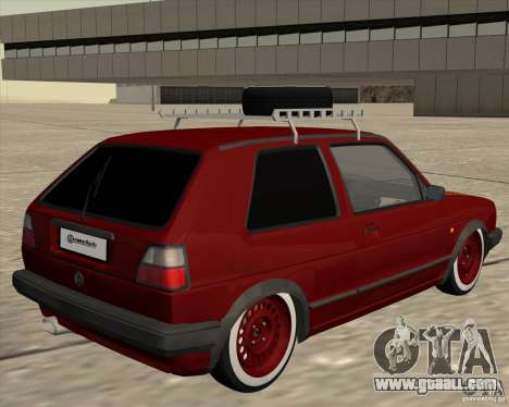 VW Golf II Shadow Crew for GTA San Andreas right view