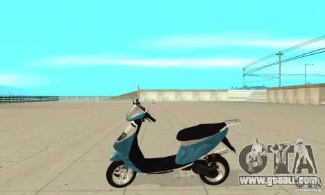 GTAIV Faggio for GTA San Andreas left view