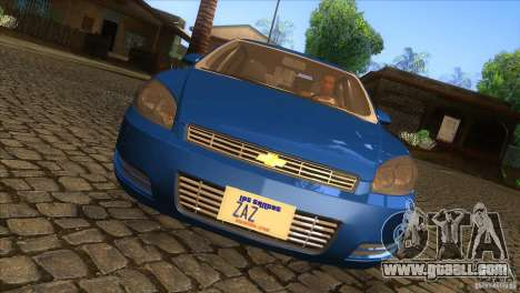 Chevrolet Impala for GTA San Andreas inner view