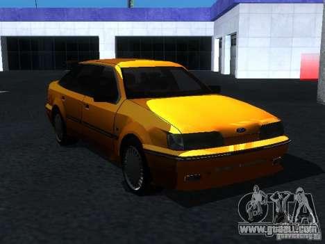 Ford Sierra Mk1 Sedan for GTA San Andreas right view