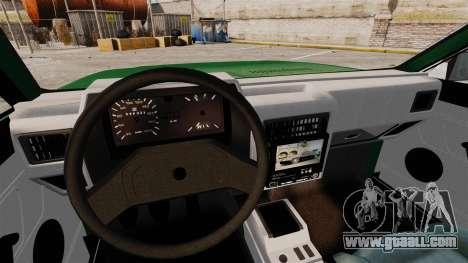Volkswagen Gol GL 1992 Edit for GTA 4 upper view