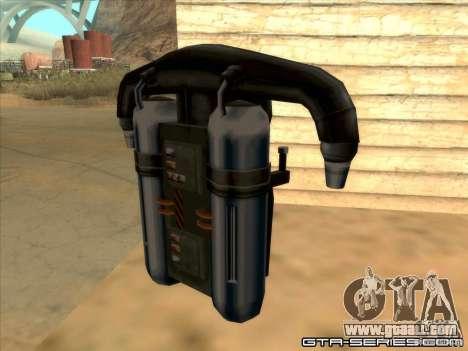 Jetpack spawner for GTA San Andreas second screenshot