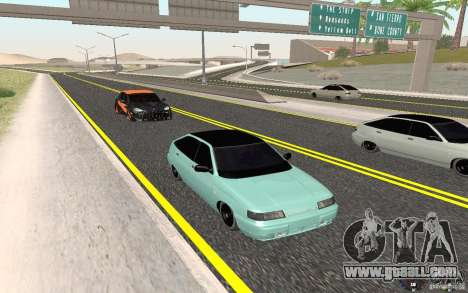 VAZ-2112 Light Tuning for GTA San Andreas