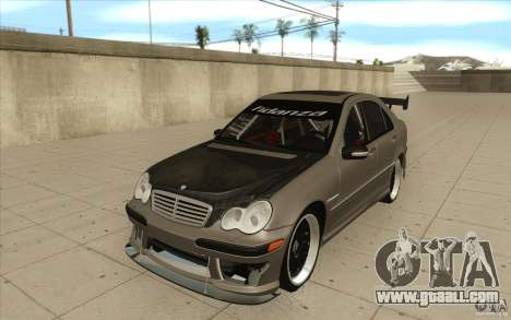 Mercedes-Benz C32 AMG Tuning for GTA San Andreas
