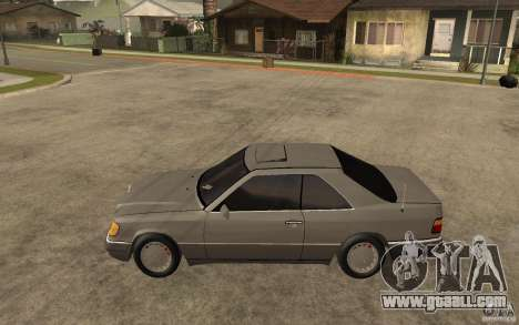 Mercedes-Benz E320 C124 for GTA San Andreas left view