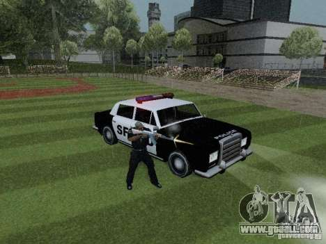 Stafford Police SF for GTA San Andreas right view