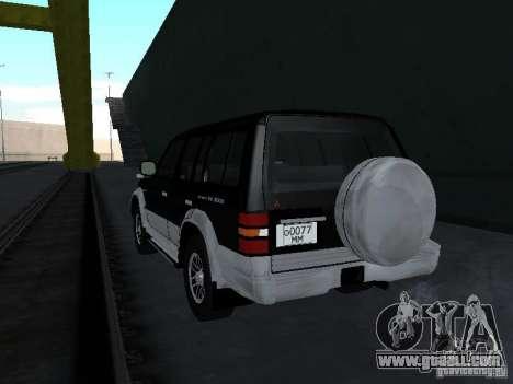 Mitsubishi Pajero for GTA San Andreas left view