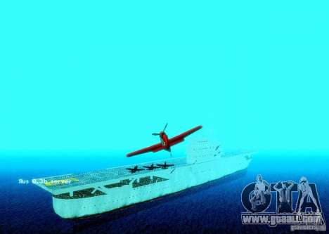 Battle Ship for GTA San Andreas forth screenshot