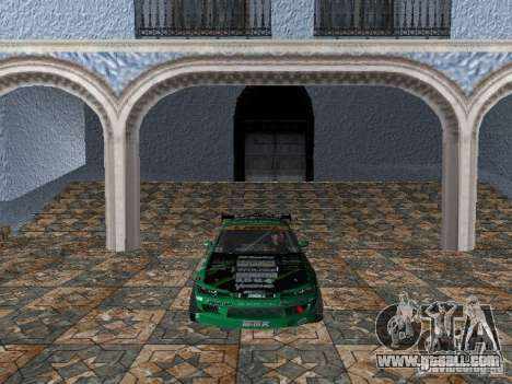 Nissan Silvia S15 Kei Office D1GP for GTA Vice City left view