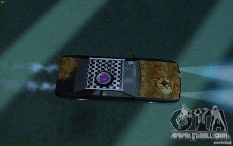 Elegy Rat by Kalpak v1 for GTA San Andreas back view