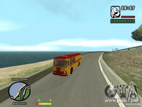 LIAZ 677 HBI technical assistance for GTA San Andreas